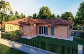 Rif:50, Villa bifamiliare, con due camere e studio, giardino classe A4