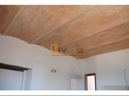 Particolare del soffitto del soggiorno
